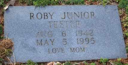TESTER, ROBY JUNIOR - Sullivan County, Tennessee | ROBY JUNIOR TESTER - Tennessee Gravestone Photos