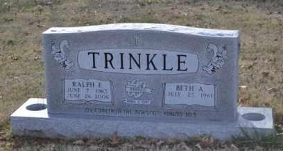 TRINKLE, RALPH E - Sullivan County, Tennessee | RALPH E TRINKLE - Tennessee Gravestone Photos