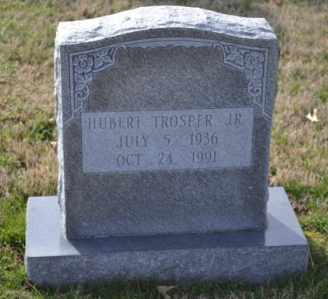 TROSPER, HUBERT, JR - Sullivan County, Tennessee | HUBERT, JR TROSPER - Tennessee Gravestone Photos