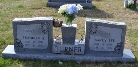 TURNER, FRANKLIN ANDREW - Sullivan County, Tennessee   FRANKLIN ANDREW TURNER - Tennessee Gravestone Photos