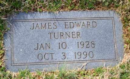 TURNER, JAMES EDWARD - Sullivan County, Tennessee | JAMES EDWARD TURNER - Tennessee Gravestone Photos