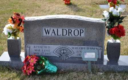 WALDROP, KENNETH - Sullivan County, Tennessee | KENNETH WALDROP - Tennessee Gravestone Photos