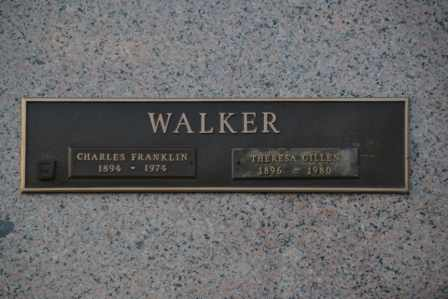 WALKER, THERESA - Sullivan County, Tennessee | THERESA WALKER - Tennessee Gravestone Photos