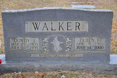 WALKER, DULCY F - Sullivan County, Tennessee | DULCY F WALKER - Tennessee Gravestone Photos