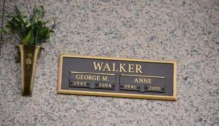 WALKER, GEORGE M - Sullivan County, Tennessee | GEORGE M WALKER - Tennessee Gravestone Photos