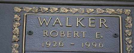 WALKER, ROBERT E - Sullivan County, Tennessee | ROBERT E WALKER - Tennessee Gravestone Photos