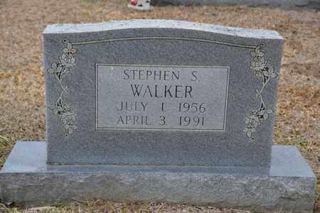 WALKER, STEPHEN S - Sullivan County, Tennessee | STEPHEN S WALKER - Tennessee Gravestone Photos