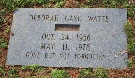 WATTS, DEBORAH GAYE - Sullivan County, Tennessee | DEBORAH GAYE WATTS - Tennessee Gravestone Photos