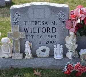 "WILFORD, THERESA MARIE ""TERRY"" - Sullivan County, Tennessee | THERESA MARIE ""TERRY"" WILFORD - Tennessee Gravestone Photos"