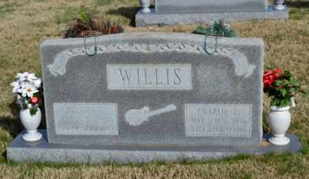 WILLIS, CHARLIE E - Sullivan County, Tennessee | CHARLIE E WILLIS - Tennessee Gravestone Photos