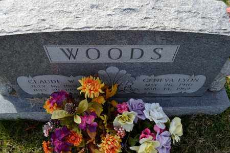 WOODS, CLAUDE W - Sullivan County, Tennessee | CLAUDE W WOODS - Tennessee Gravestone Photos