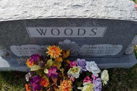 WOODS, GENEVA - Sullivan County, Tennessee | GENEVA WOODS - Tennessee Gravestone Photos