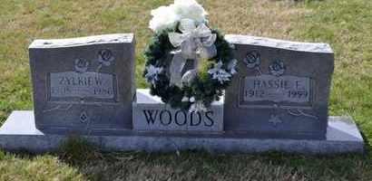 WOODS, ZYLKIE W - Sullivan County, Tennessee | ZYLKIE W WOODS - Tennessee Gravestone Photos