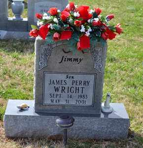 WRIGHT, JAMES PERRY - Sullivan County, Tennessee | JAMES PERRY WRIGHT - Tennessee Gravestone Photos
