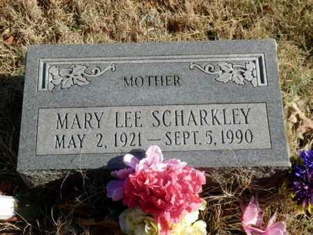 SCHARKLEY, MARY LEE - Sumner County, Tennessee | MARY LEE SCHARKLEY - Tennessee Gravestone Photos