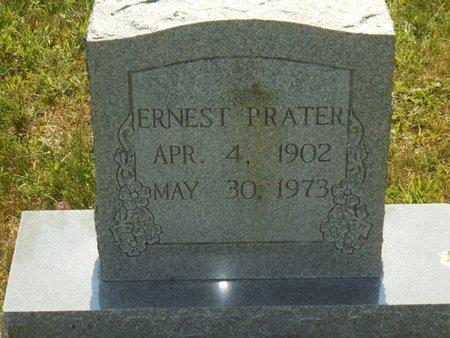 PRATER, ERNEST - Van Buren County, Tennessee | ERNEST PRATER - Tennessee Gravestone Photos