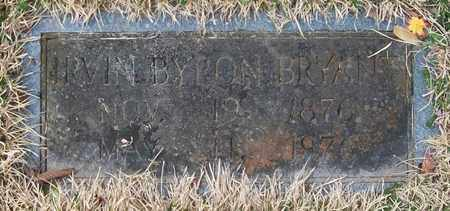 BRYANT, IRVIN BYRON - Warren County, Tennessee   IRVIN BYRON BRYANT - Tennessee Gravestone Photos