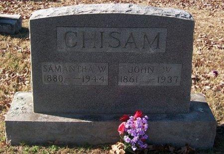 CHISAM, SAMANTHA W. - Warren County, Tennessee | SAMANTHA W. CHISAM - Tennessee Gravestone Photos