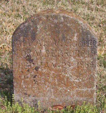 COOPER, ALVA N. - Warren County, Tennessee | ALVA N. COOPER - Tennessee Gravestone Photos