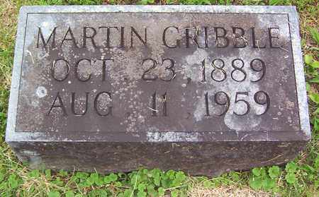 GRIBBLE, MARTIN - Warren County, Tennessee | MARTIN GRIBBLE - Tennessee Gravestone Photos