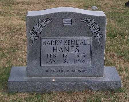 HANES, HARRY KENDALL - Warren County, Tennessee | HARRY KENDALL HANES - Tennessee Gravestone Photos