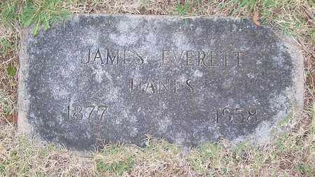 HANES, JAMES EVERETT - Warren County, Tennessee | JAMES EVERETT HANES - Tennessee Gravestone Photos