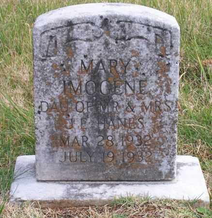 HANES, MARY IMOGENE - Warren County, Tennessee   MARY IMOGENE HANES - Tennessee Gravestone Photos