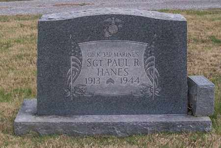 HANES, PAUL R. - Warren County, Tennessee   PAUL R. HANES - Tennessee Gravestone Photos