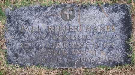 HANES  (VETERAN WWII), PAUL RITTER - Warren County, Tennessee | PAUL RITTER HANES  (VETERAN WWII) - Tennessee Gravestone Photos