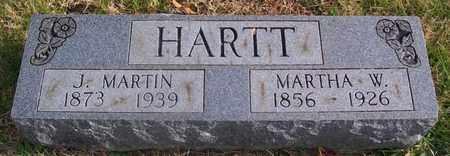 HARTT, MARTHA W. - Warren County, Tennessee | MARTHA W. HARTT - Tennessee Gravestone Photos
