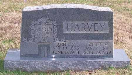 HARVEY, WILLIE M. - Warren County, Tennessee | WILLIE M. HARVEY - Tennessee Gravestone Photos