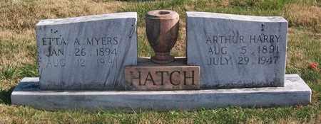 MYERS HATCH, ETTA A. - Warren County, Tennessee   ETTA A. MYERS HATCH - Tennessee Gravestone Photos
