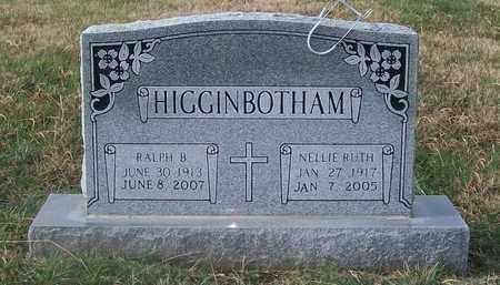 HIGGINBOTHAM, NELLIE RUTH - Warren County, Tennessee | NELLIE RUTH HIGGINBOTHAM - Tennessee Gravestone Photos