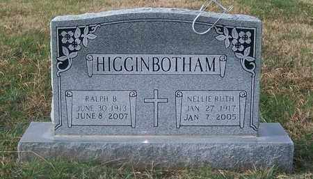 HIGGINBOTHAM, NELLIE RUTH - Warren County, Tennessee | NELLIE RUTH HIGGINBOTHAM - Tennessee Gravestone Photos