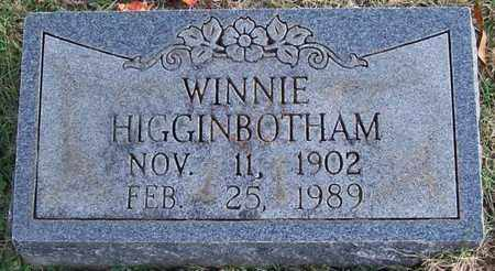 HIGGINBOTHAM, WINNIE - Warren County, Tennessee | WINNIE HIGGINBOTHAM - Tennessee Gravestone Photos
