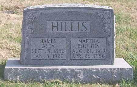 BOULDIN HILLIS, MARTHA - Warren County, Tennessee | MARTHA BOULDIN HILLIS - Tennessee Gravestone Photos