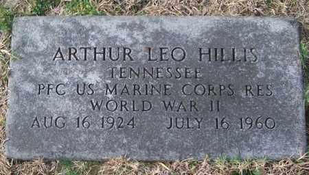HILLIS (VETERAN WWII), ARTHUR LEO - Warren County, Tennessee | ARTHUR LEO HILLIS (VETERAN WWII) - Tennessee Gravestone Photos
