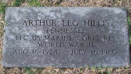 HILLIS (VETERAN WWII), ARTHUR LEO - Warren County, Tennessee   ARTHUR LEO HILLIS (VETERAN WWII) - Tennessee Gravestone Photos