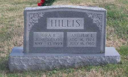HILLIS, ORA B. - Warren County, Tennessee   ORA B. HILLIS - Tennessee Gravestone Photos