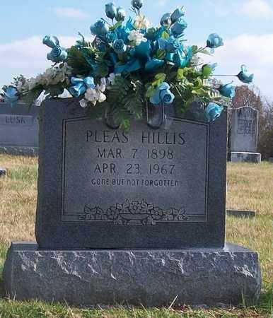 HILLIS, PLEAS - Warren County, Tennessee | PLEAS HILLIS - Tennessee Gravestone Photos