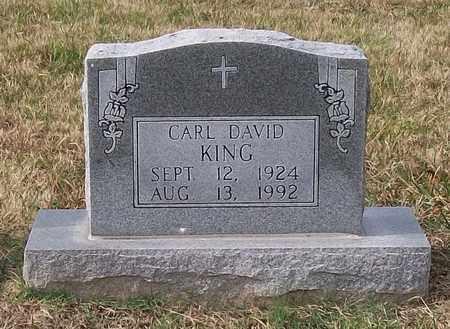 KING, CARL DAVID - Warren County, Tennessee | CARL DAVID KING - Tennessee Gravestone Photos
