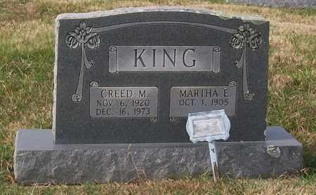 KING, MARTHA E. - Warren County, Tennessee | MARTHA E. KING - Tennessee Gravestone Photos