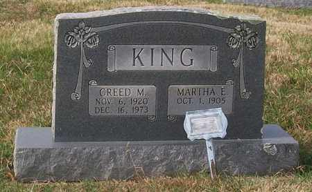 KING, CREED M. - Warren County, Tennessee | CREED M. KING - Tennessee Gravestone Photos