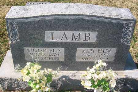 LAMB, MARY ELLEN - Warren County, Tennessee | MARY ELLEN LAMB - Tennessee Gravestone Photos