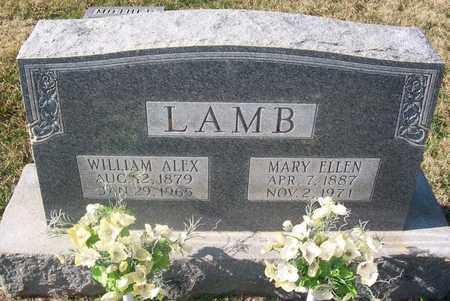 LAMB, WILLIAM ALEX - Warren County, Tennessee | WILLIAM ALEX LAMB - Tennessee Gravestone Photos