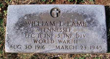 LAMB, WILLIAM L. - Warren County, Tennessee | WILLIAM L. LAMB - Tennessee Gravestone Photos