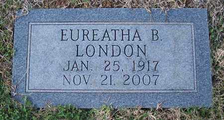 LONDON, EUREATHA B. - Warren County, Tennessee   EUREATHA B. LONDON - Tennessee Gravestone Photos