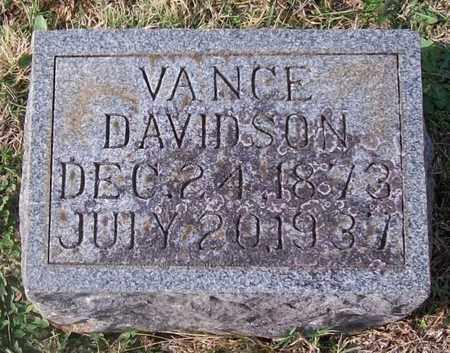 LUSK, VANCE DAVIDSON - Warren County, Tennessee   VANCE DAVIDSON LUSK - Tennessee Gravestone Photos