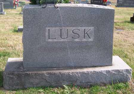 LUSK, FLORENCE - Warren County, Tennessee | FLORENCE LUSK - Tennessee Gravestone Photos