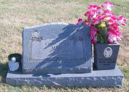 MABE, KAYLA MARIE - Warren County, Tennessee | KAYLA MARIE MABE - Tennessee Gravestone Photos